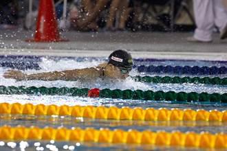 東京奧運》女子游泳保障名額 黃渼茜獲50公尺自由式門票