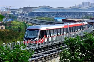 長沙磁浮快線全線提速 時速140公里列車投入營運