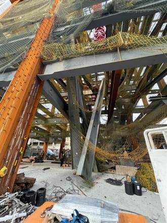 營造業勞工遭掉落鋼樑撞擊傷重不治 北市勞檢處勒令停工