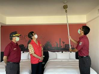 防疫期間消防安全不馬虎 金門恢復列管旅館業抽檢