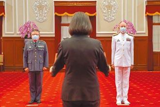 梅家樹晉任二級上將 海軍司令有望