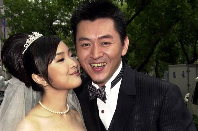 庹宗華與小十五歲的陳思結婚,傳出家暴離婚收場。(圖/中時資料照)