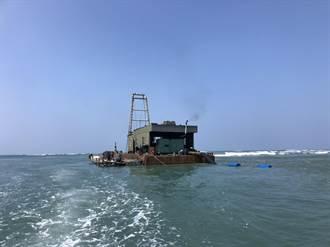 改善七股潟湖陸化 台南累計疏濬逾120萬立方公尺