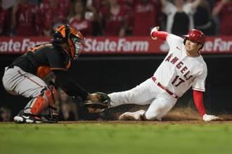 MLB》30轟破貝比魯斯紀錄 大谷翔平又跑回再見分