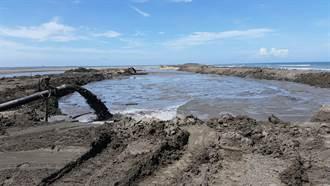 防七股潟湖陸化消失 台南市10年抽出560座游泳池泥砂