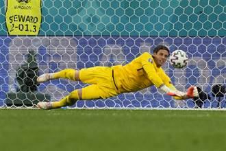 歐國盃》新一代鐵砂掌 瑞士門將對西班牙10次撲救成功