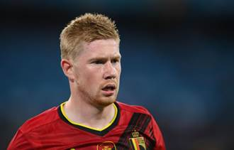 歐國盃》為國家拚了 德布勞內腳踝韌帶撕裂仍踢滿全場