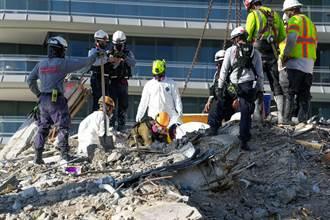 佛州大樓半坍案再遇危機 多名搜救人員確診新冠肺炎