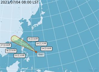烟花颱風最快明生成 不排除發陸警 警戒區域曝光