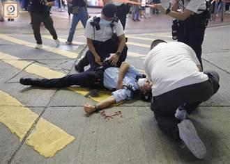 七一銅鑼灣襲警案 港警國安處接手調查