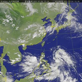 熱帶性低氣壓持續發展中 「烟花」最快明白天成颱