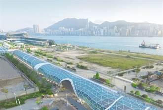 昔日啟德機場化身空中花園 成香港新地標