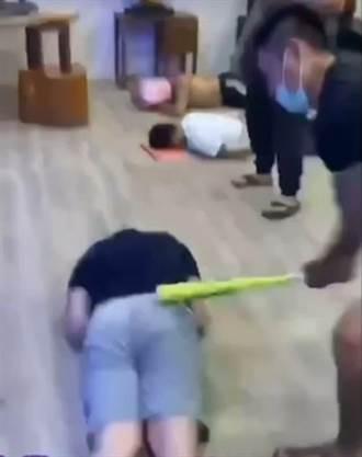 偷水錢躲去台中被抓到? 男被爆打「屁股快開花」