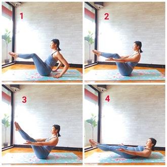 宅居做瑜伽 身心放輕鬆