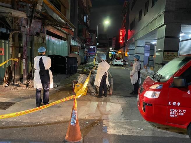 王姓男子疑因到工地旁如廁,不慎跌落2公尺水坑數日,家屬報案失蹤人口後9日發現遺體。(圖:民眾提供)