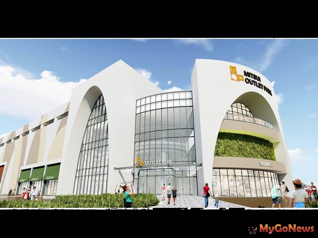 林口媒體園區開工動土 三井複合式商業設施預計2024年開幕(圖/新北市政府)