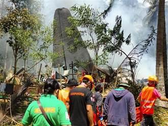 菲軍近30年來最嚴重空難 運輸機墜落增至45死