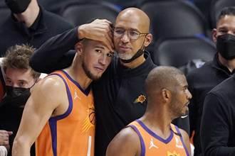 NBA》太陽主帥:做好字母哥上場準備 不擋布克打奧運