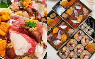 超豪華「壽司餐盒」滿滿海膽盒跟厚切生魚片 連高級散壽司都帶走:米其林指南推薦還不吃