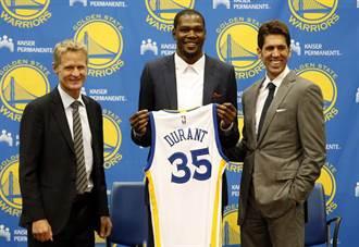 NBA》官宣加盟勇士5周年 KD自黑:這是國定假日