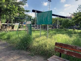 防疫也要注重市容!台南市議長批公園雜草叢生