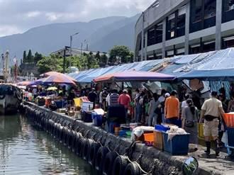 見大溪漁港這一幕 宜蘭人氣炸:我都不敢回家 你們好意思?