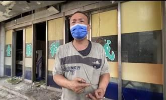 喬友大火死者靈堂前捻香遭拒 蔡進峰:支持拆除別再害死人