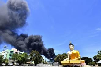 台資明諦化學泰國工廠爆炸21人傷 疏散周邊5公里民眾