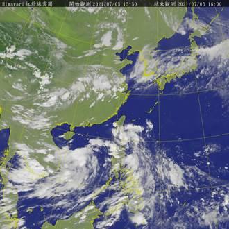 有機會成颱 氣象局發布熱帶性低氣壓特報備戰