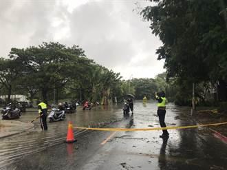 熱對流雨量超過1小時100毫米 高市啟動防汛抽水應變得宜