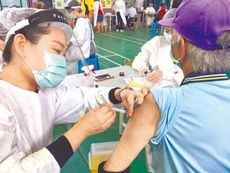 雲林首波莫德納 8鄉鎮接種率達100%