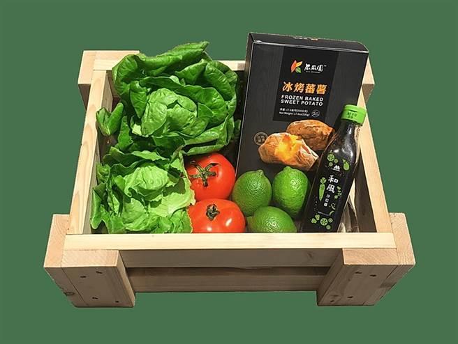 摩斯漢堡本月開始在「摩斯安心點」中,增加蔬菜選項讓客人「A+B」自由組合搭配。(圖/ 摩斯漢堡)