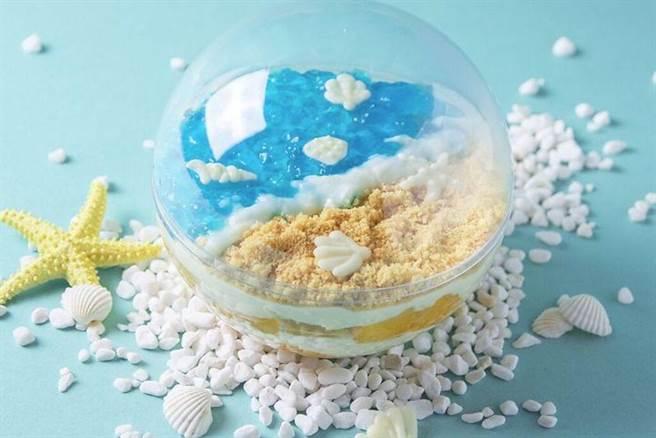 ▲海洋生乳酪球。 圖:自己做烘焙聚樂部╱提供