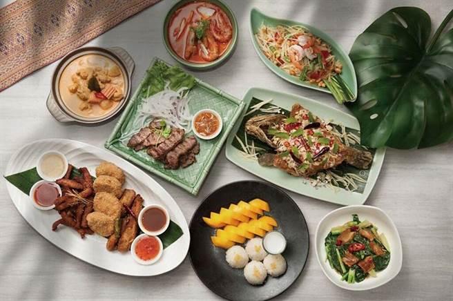 ▲ SUKHOTHAI「豪華分享餐」。 圖:台北喜來登大飯店╱提供