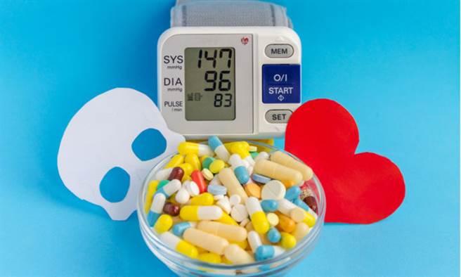 疫情期間心血管疾病族群更應按時服藥,避免急性心肌梗塞發生。(示意圖/Shutterstock)