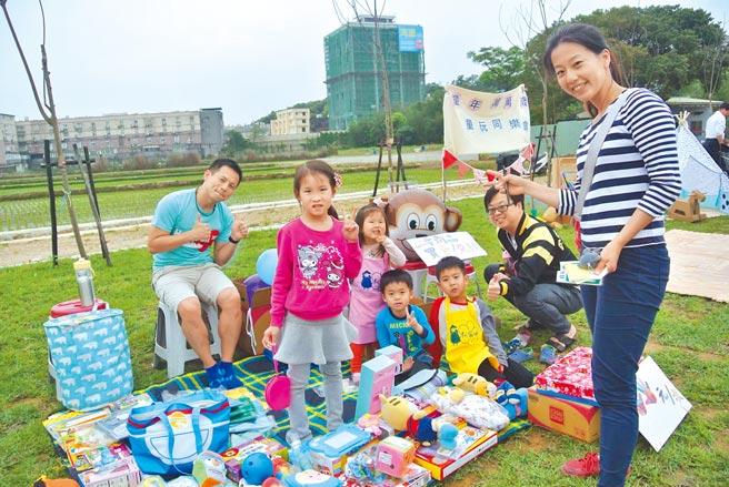 阿霸妹最受歡迎的莫過於社區1日遊行程與各類主題性的親子活動,背後推手就是專案經理廖敏馨。(廖敏馨提供)