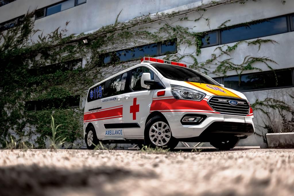 福特六和汽車結合來自福特汽車總部及慈善基金Ford Fund捐贈桃園市政府防護裝備及負壓式床艙救護車。