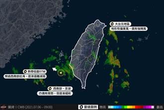 熱低壓蛙跳擾西南 大台北「氣流繞山」7級風狂吹