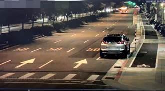 防疫車流少 文山區機車騎士超速撞飛過馬路婦人 釀死亡車禍