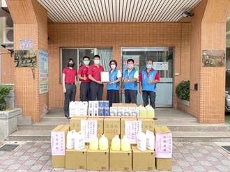 大溪區永福宮捐贈防疫物資 消防執勤更安心