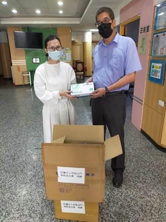 苗栗疫情暫緩 多單位分送防疫物資