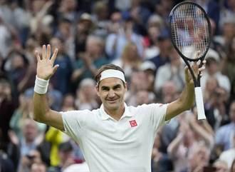 溫布頓》39歲費爸 網球公開化以來最年長8強