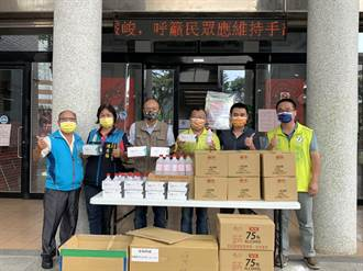 前立委湯火聖募集防疫物資 捐贈各鄉鎮市及醫療院所