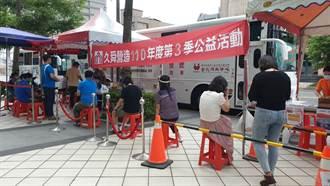 久舜營造公益捐血活動 「為愛出發 捐熱血 分享愛 」 共捐得279袋血