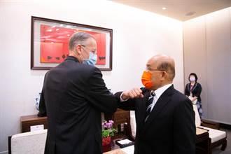 AIT處長酈英傑將離任 蘇貞昌感謝駐台期間增進台美關係貢獻