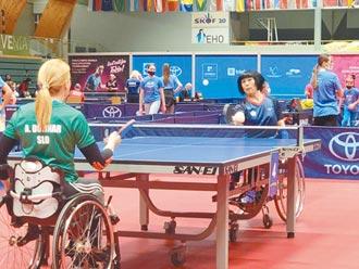 新北身障桌球選手盧碧春 將出征帕運