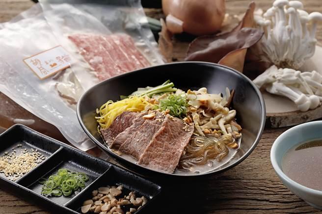 「胡同裏的貓」的新品「椒麻蔬菜水梨葛條牛小排」,為雲南風味的美味。(圖/橘焱國際)