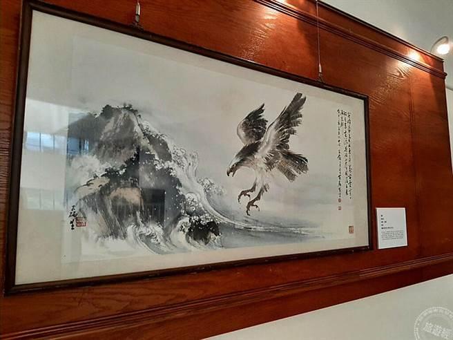 大墩典藏之美線上看-黃磊生大師作品《鷹》 (圖片:台中市政府提供 )