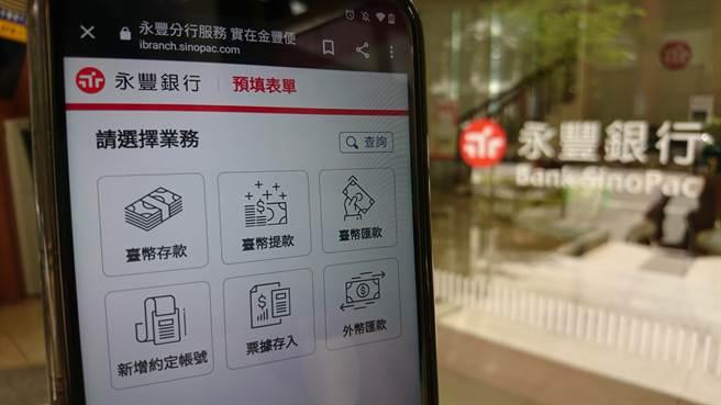 疫情警戒延長,永豐銀行加速三大面向數位服務。(永豐提供)