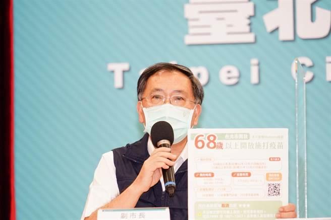 台北市長副市長蔡炳坤。(台北市政府提供/張立勳台北傳真)